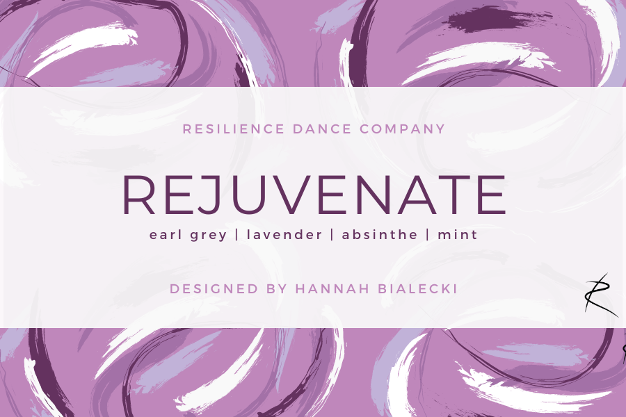 RESILIENCE Dance Company: Rejuvenate candle