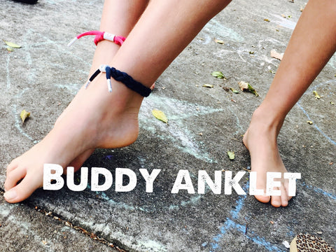 Oversized Buddy Bracelet or Anklet