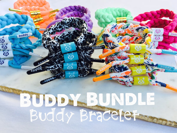Buddy combo of four Buddy Bracelets ⭐️