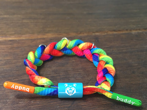 Buddy Bracelet for charms  🌟 Rainbow AQUA