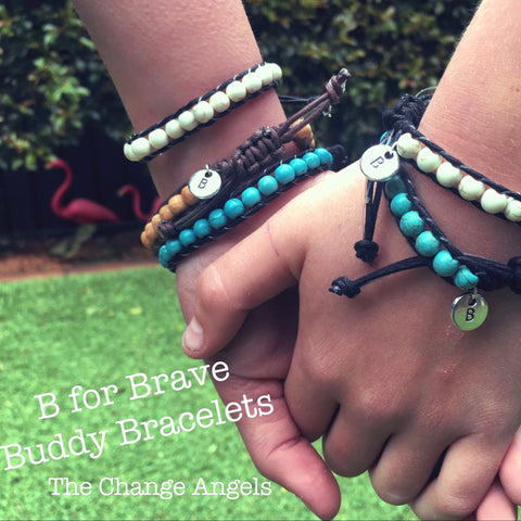 #buddy bracelet B for BRAVE - charity