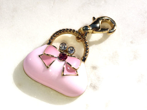 Charm - My Pink Purse -- NEW --