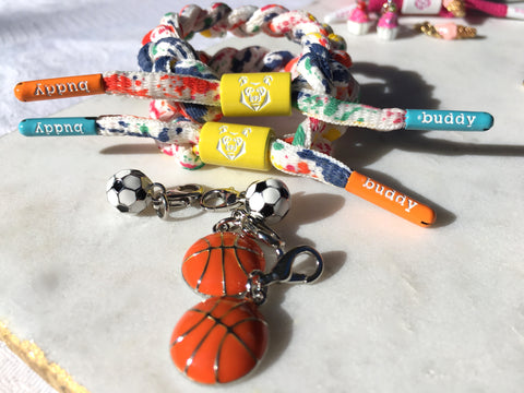 Buddy Bracelet for charms ⚽️🏀 ⚽️🏀 sport combo pack