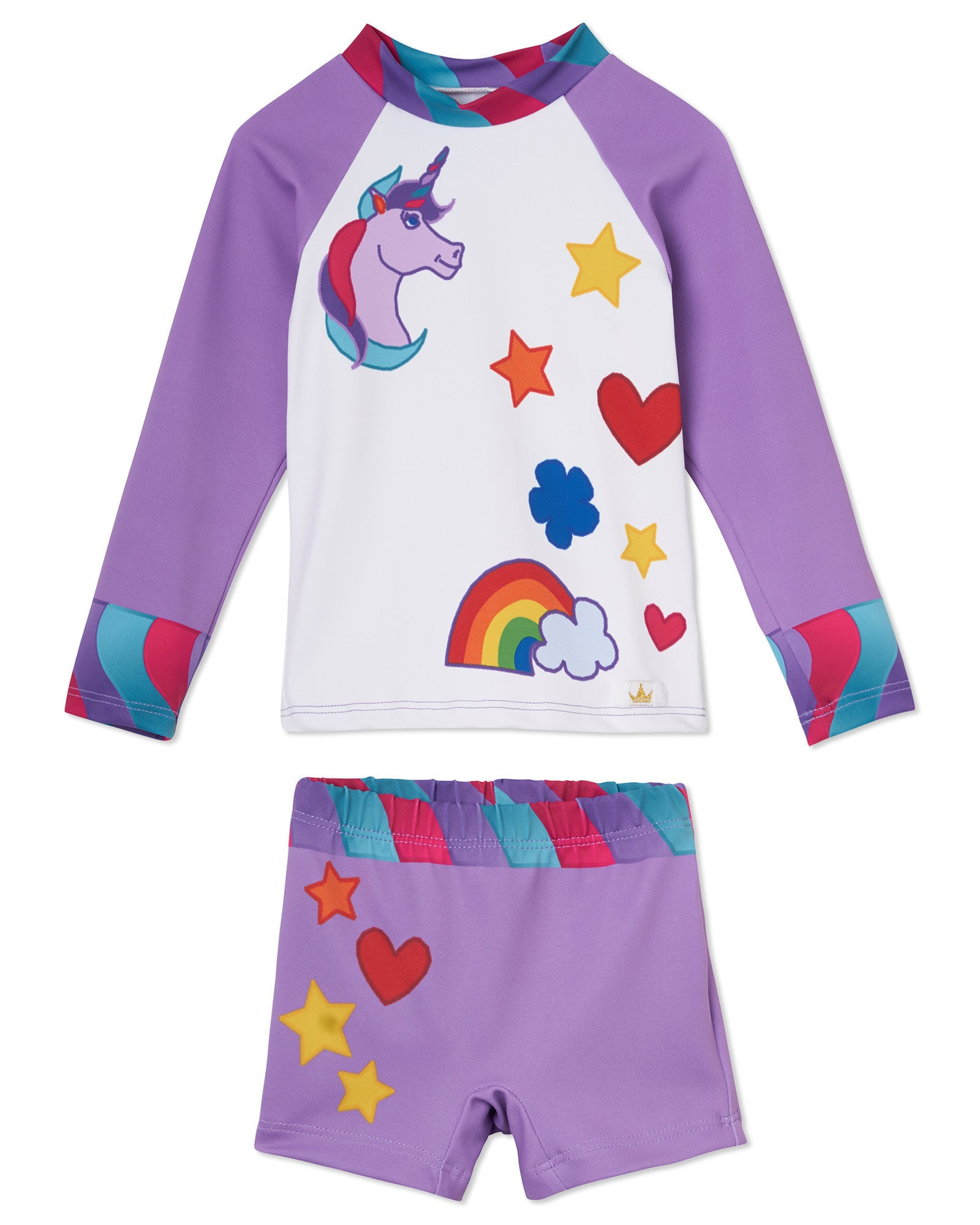 f7bdc76a34f08 Best Toddler UV UPF 50+ Swimwear & Unicorn Girl Costume Design ...