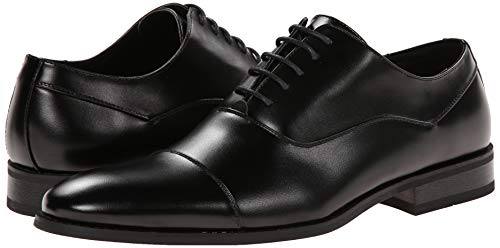 Unlisted by Kenneth Cole Men's Half Time Oxford, Black, 11 M US