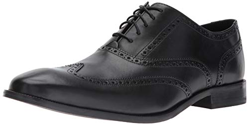 Cole Haan Men's Williams Wingtip Oxford, Black, 10.5