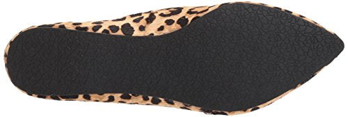 Steve Madden Women's Feather Loafer Flat, Leopard,