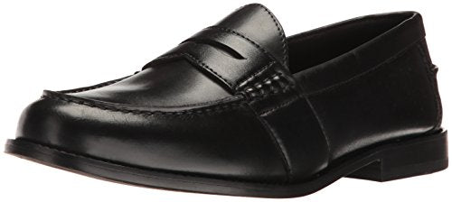 Nunn Bush Men's Noah Penny Loafer Dress Casual Slip On Shoe, Black