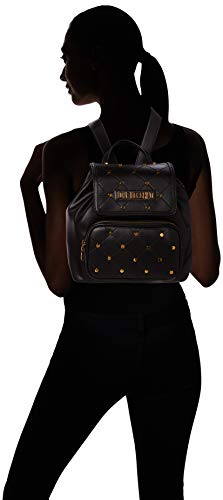 Love Moschino Women's Backpack Handbag, Black (Nero), 15x27x33 centimeters (W x H x L)