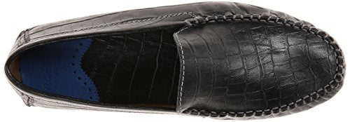 Robert Graham Men's Verrezano, Black Nubuck