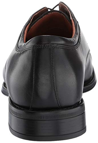 Florsheim Men's Allis Comfortech Cap Toe Oxford Dress Shoe, black,