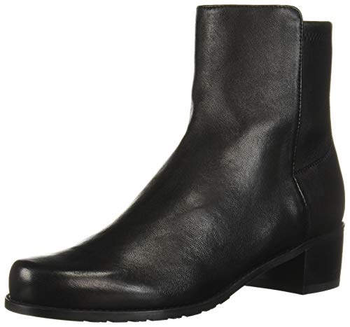 Stuart Weitzman Women's EASYON Reserve Chelsea Boot, Black Dress Str Nappa,