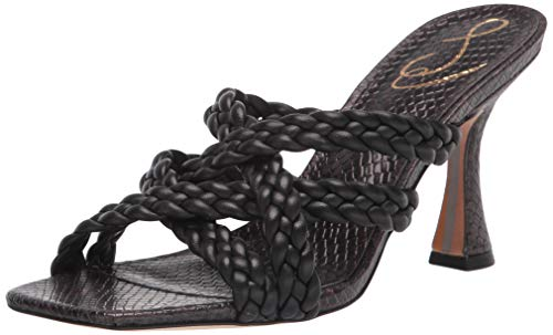 Sam Edelman Women's Marjorie Heeled Sandal, Black,