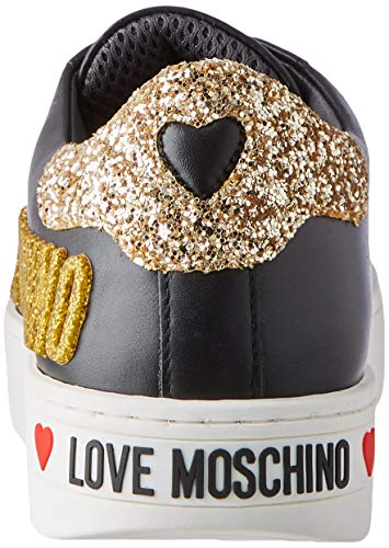Love Moschino Women's Gymnastics Shoes, Black