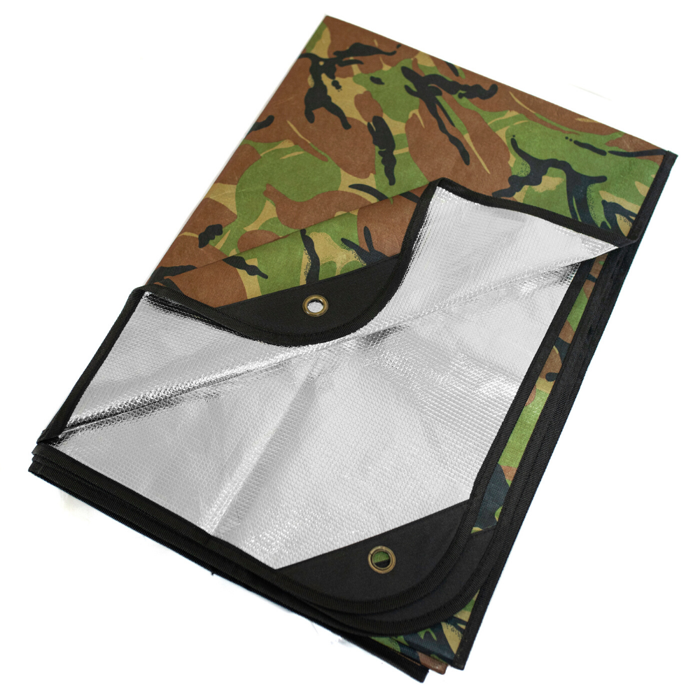 "Arcturus All Weather Outdoor Survival Blanket 60"" x 82"" - Choose from 6 Colors"