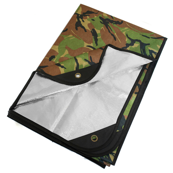 "Arcturus All Weather Outdoor Survival Blanket 60"" x 82"" - Choose from 5 Colors"
