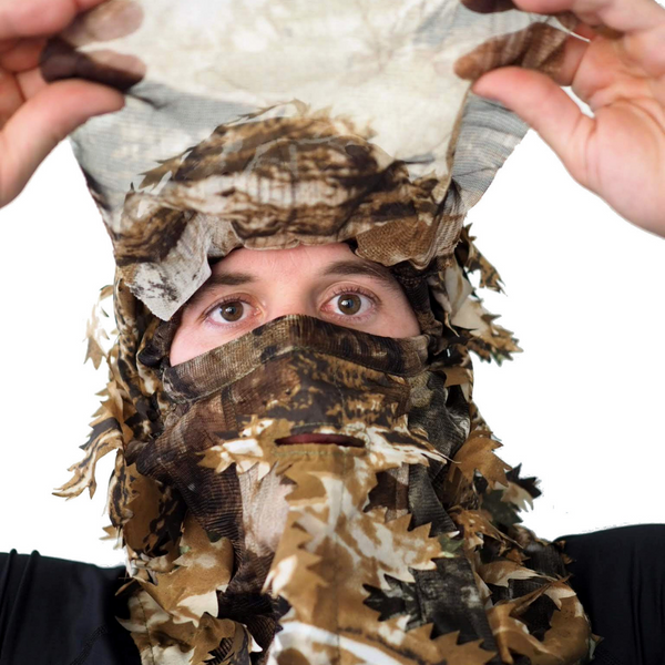 Arcturus Camo 3D Leaf Face Mask
