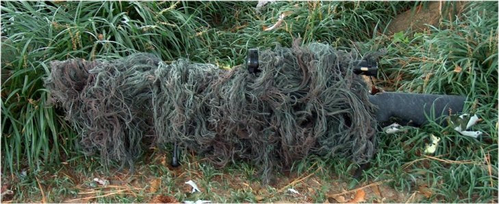 Ghillie Rifle Wrap
