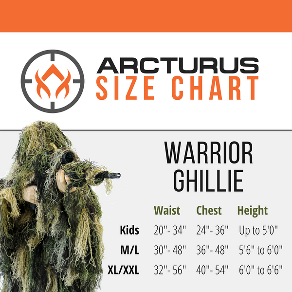Arcturus Warrior Ghillie Suit