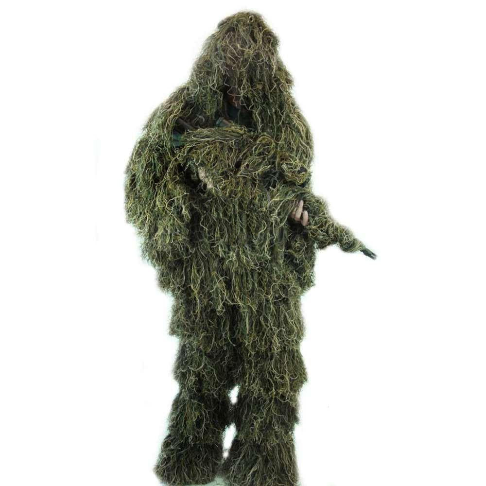 Arcturus Woodland Ghost Ghillie Suit - Includes Matching Rifle Wrap
