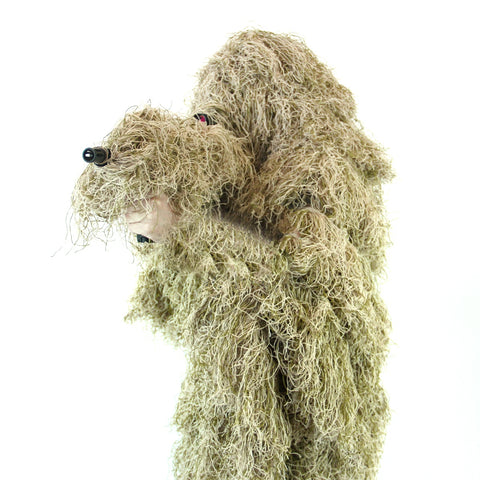 Arcturus Dry Grass Ghost Ghillie Suit - Includes Matching Rifle Wrap