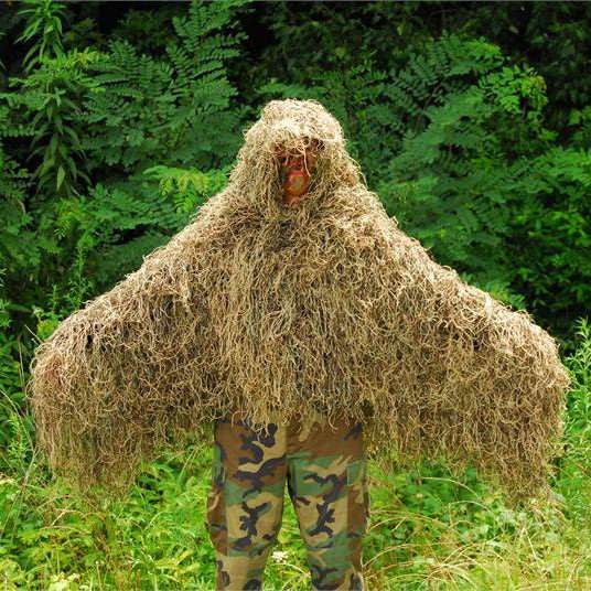 Lightweight Ghillie Poncho Tracker