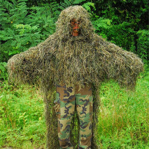 Open image in slideshow, Lightweight Ghillie Poncho Stalker