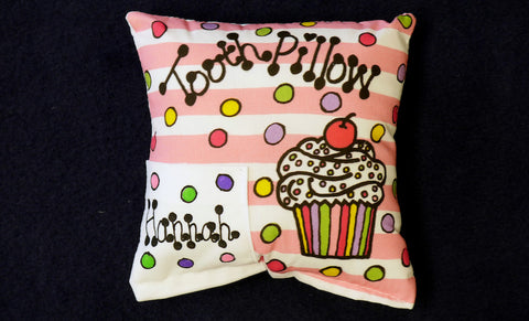 Sweets Tooth Pillow with Personalization