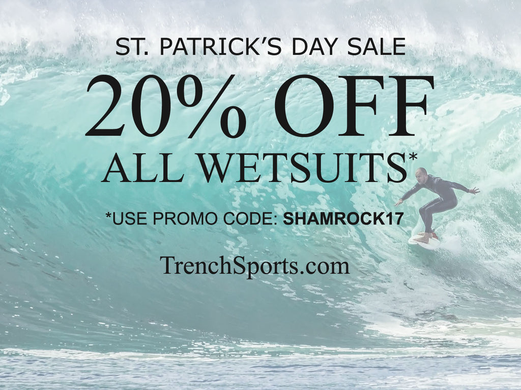 Trench Sports - St. Patrick's Day Sale