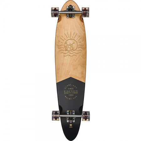 Trench Sports - Globe - Pinner Classic Black/Mahogany Longboard Complete
