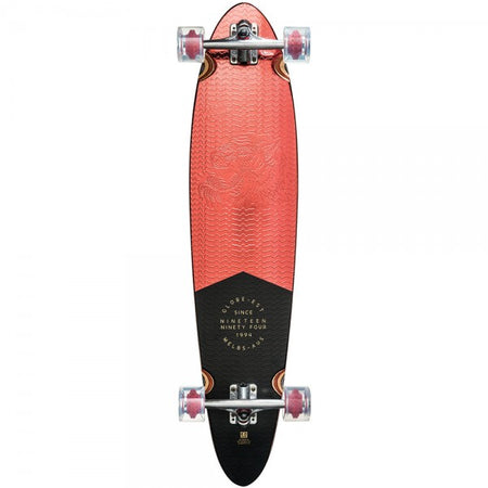 Trench Sports - Globe - Pinner Classic Red Foil Longboard Complete