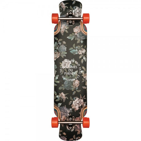 Trench Sports - Globe - Siam Jagged Rose Longboard Complete