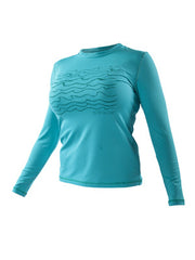 Trench Sports - Body Glove - Loosefit L/A Rashguard Cyan