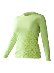 Trench Sports - Body Glove - Loosefit L/A Rashguard Lime
