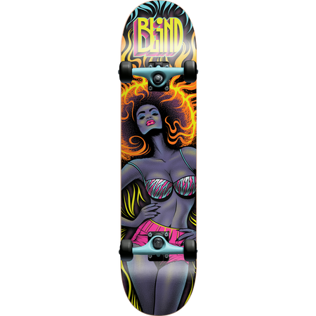 Trench Sports - Blind - Fuego Girl Complete Skateboard