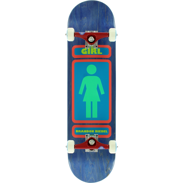 Trench Sports - Girl - Biebel 93 Till Infinity Complete Skateboard 8.0