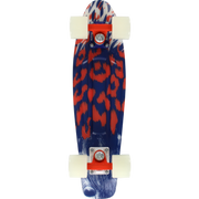 "Trench Sports - Penny - 22"" Complete Skateboard After Dark Glow Blue/Orange/White"