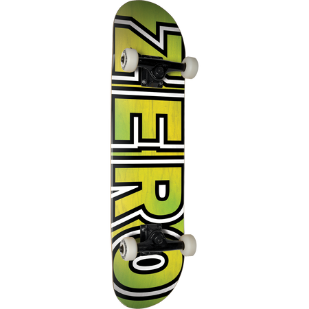 Trench Sports - Zero - Bold Complete Skateboard 7.87 Yellow/Green Fade
