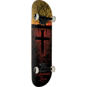 Trench Sports - Zero - Thomas Life & Death Complete Skateboard 7.75 Red/Yellow