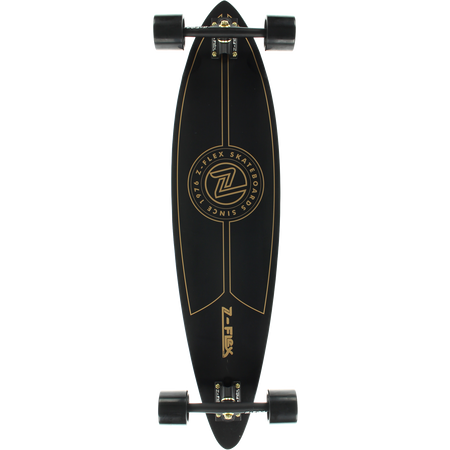 Trench Sports - Z-Flex - Top Shelf Gold Longboard