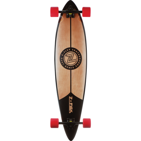 Trench Sports - Z-Flex - Black Pintail Longboard