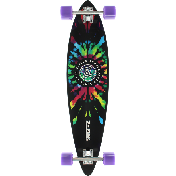 Trench Sports - Z-Flex - Tie Dye Longboard