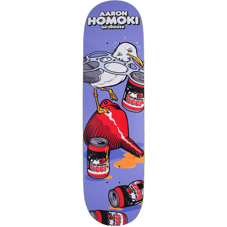 Trench Sports - Birdhouse - BP Homoki Fowl Skateboard Deck 8-8.25