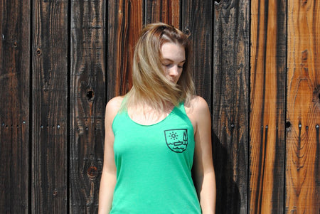 Trench Sports - The Limited Line - Lakeside Mini Crest Women's Tank Top