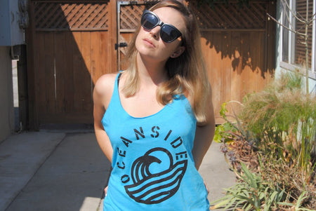 Trench Sports - The Limited Line - Oceanside Women's Wave Tank Top