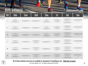 Marathon Running Program
