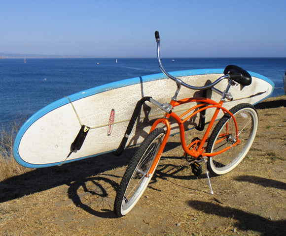 Trench Sports - Moved By - Longboard Bike Rack