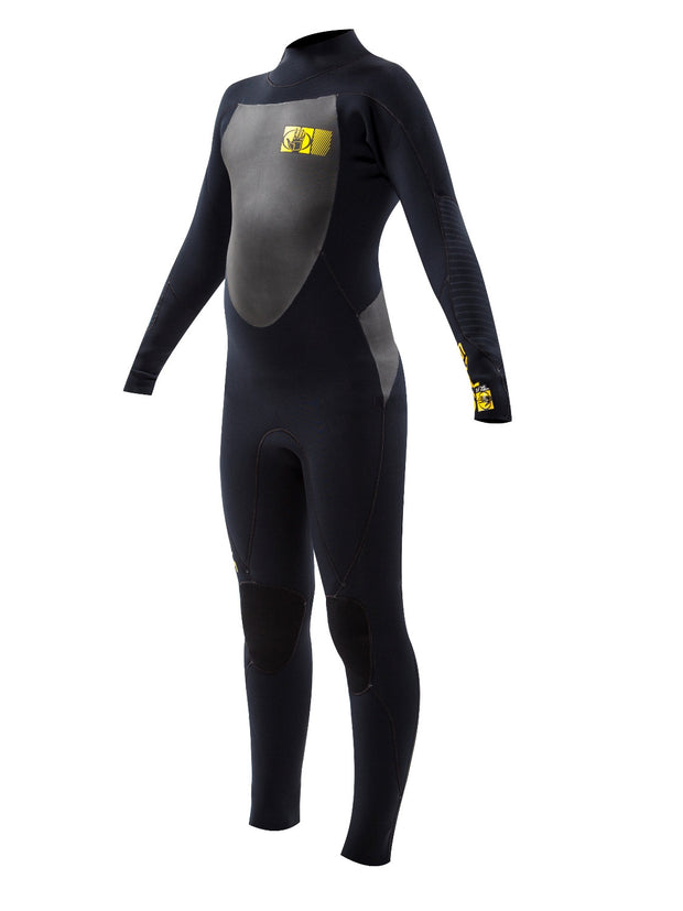 Trench Sports - Body Glove - Siroko Youth 3/2mm Back Zip Fullsuit Black