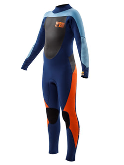 Trench Sports - Body Glove - Siroko Youth 4/3mm Back Zip Fullsuit Blue