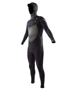 Trench Sports - Body Glove - Voodoo 5/4/3 MM Slant Zip Hooded Fullsuit